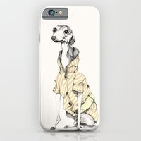 iPhone & iPod Case featuring he would never do it by Cecilia Sánchez