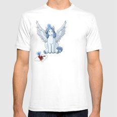 If I was a Pony Mens Fitted Tee SMALL White