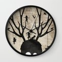 dear imaginary friends Wall Clock