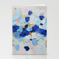 Stationery Cards featuring Amoebic Party No. 2 by Ann Marie Coolick