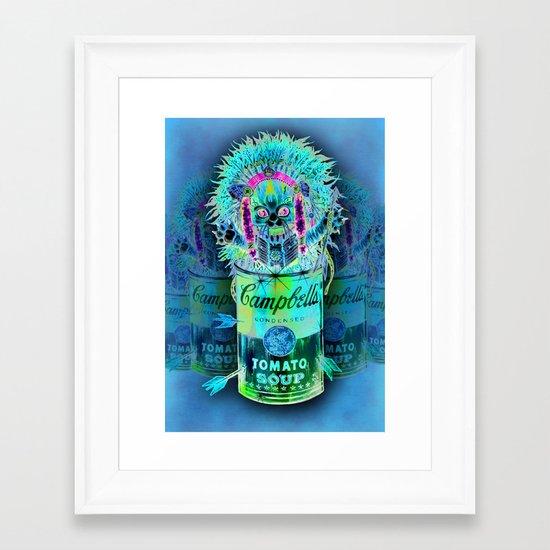 Kitty Pop Framed Art Print