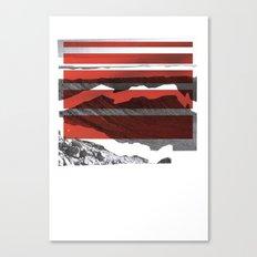 Red Terrain Canvas Print