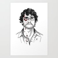 Will Graham - Hannibal Tryptch Art Print