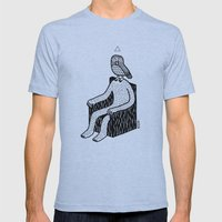 The Hypnowl Consultant Mens Fitted Tee Athletic Blue SMALL