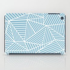 Ab Lines Sky Blue iPad Case
