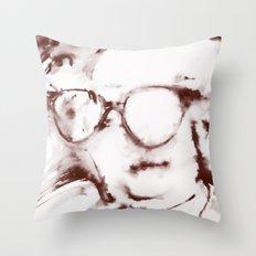 The Visionary Sepia Throw Pillow