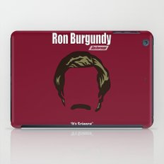 Ron Burgundy: Anchorman iPad Case