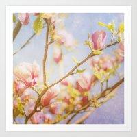 Spring Days Art Print
