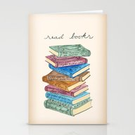 Love For Reading Stationery Cards
