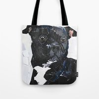 Theo the Pittie Tote Bag
