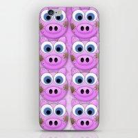 Dirty Little Piggies iPhone & iPod Skin
