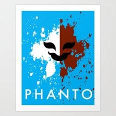 Phanto Art Print