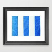 Summer Stripes 3493 Framed Art Print