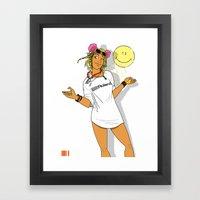 Summer Of Love '89 Framed Art Print
