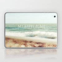 Beach - My Happy Place Laptop & iPad Skin