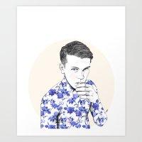 Inked #5 Art Print