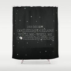 OneRepublic ; Counting Stars Shower Curtain