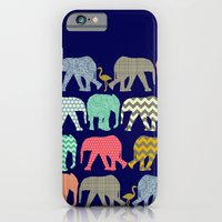 Baby Elephants And Flami… iPhone 6 Slim Case