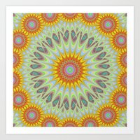 sun Art Prints featuring Sun by David Zydd