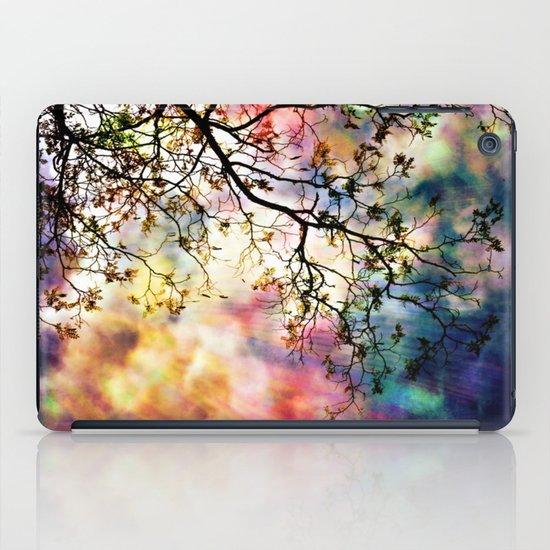 the Tree of Many Colors iPad Case