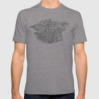 Herd Mens Fitted Tee Tri-Grey SMALL
