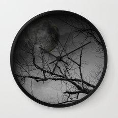 Eerie Night Wall Clock