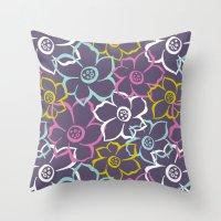 Bouquet | Festive Throw Pillow