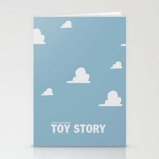 Toy Story | Minimalist Movie Poster Stationery Card