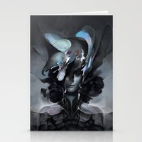 The Carrion Widow From B… Stationery Cards