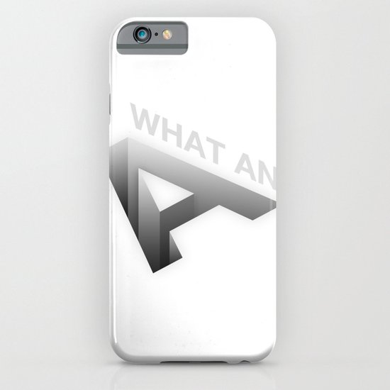 A-Hole iPhone & iPod Case