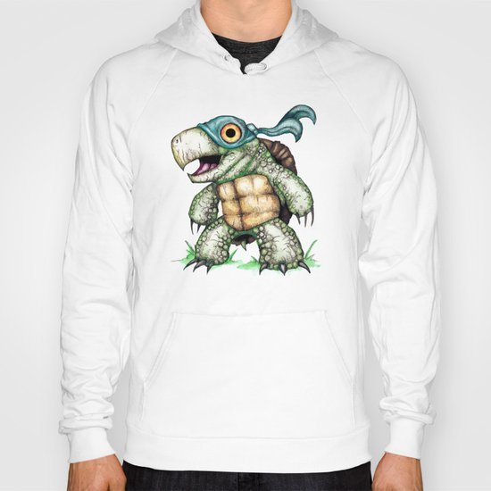 Teenage Mutant Snapping Turtle ; Leonidas Hoody