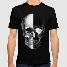 The Skull Black SMALL Mens Fitted Tee