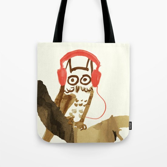Forest Beats Tote Bag