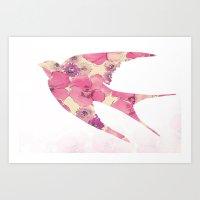Swallow 2 Art Print