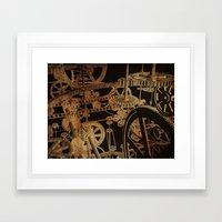 The Inner Workings Framed Art Print