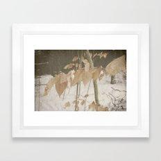 Few Fall Framed Art Print