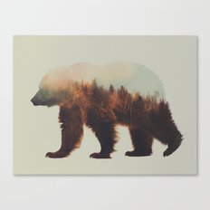 Norwegian Woods: The Brown Bear Canvas Print