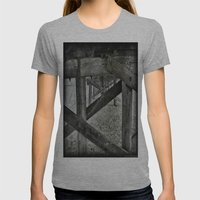 Wooden Jungle Womens Fitted Tee Athletic Grey SMALL