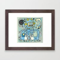 Cosmonautique  Framed Art Print