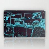 9-1-1 Blue Laptop & iPad Skin