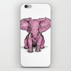 Pink Elephant and Roger iPhone & iPod Skin