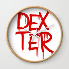word: Dexter Wall Clock