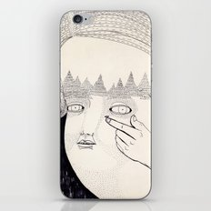 Lente de contacto iPhone & iPod Skin