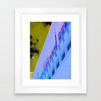 Corner Office Framed Art Print