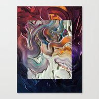 Falling Out Canvas Print