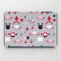 Bloody Family Pattern iPad Case