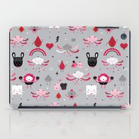 Bloody Family pattern iPad Case