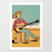Desert Song Art Print