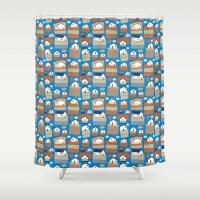 Pattern Project #40 / Li… Shower Curtain