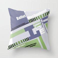 Leger Ballet Mechanique Throw Pillow